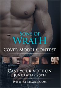 Sons of Wrath Cover Model Contest