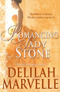 Cover Reveal: Romancing Lady Stone by Delilah Marvelle